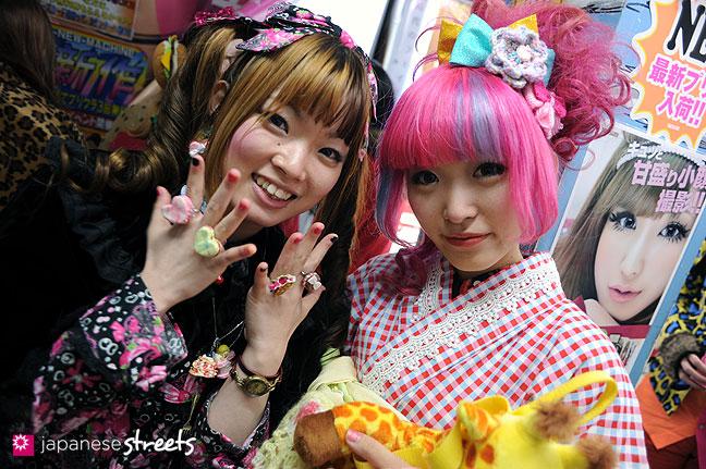 120107-2262: Japanese street fashion in Harajuku, Tokyo