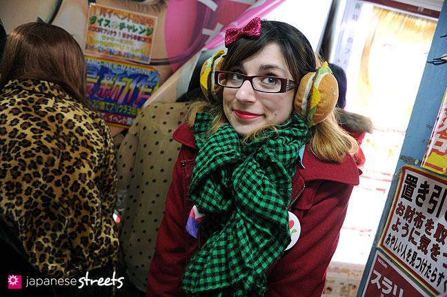 120107-2267: Japanese street fashion in Harajuku, Tokyo