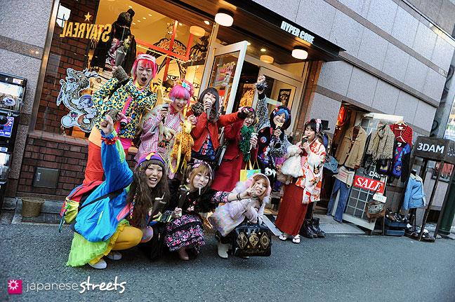120107-2426: Japanese street fashion in Harajuku, Tokyo