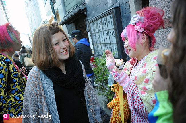 120107-2449: Japanese street fashion in Harajuku, Tokyo