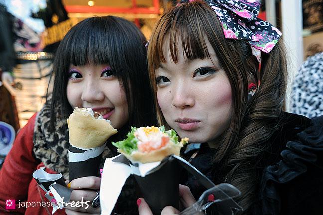 120107-2460: Japanese street fashion in Harajuku, Tokyo