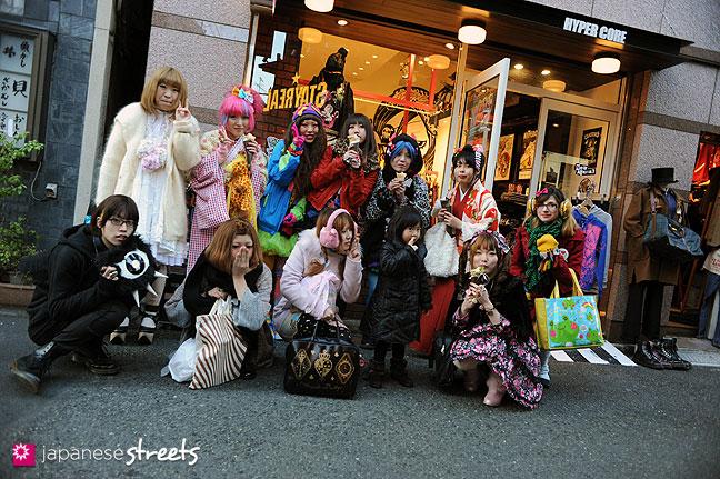 120107-2464: Japanese street fashion in Harajuku, Tokyo