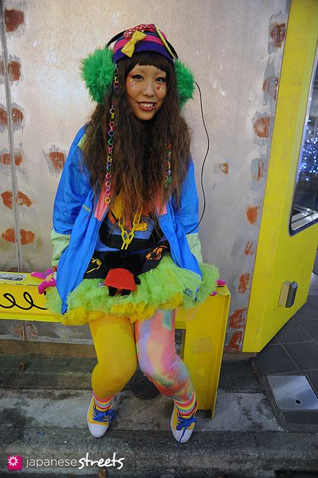 120107-2478: Japanese street fashion in Harajuku, Tokyo