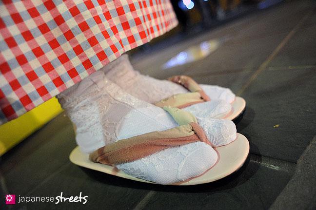 120107-2532: Japanese street fashion in Harajuku, Tokyo