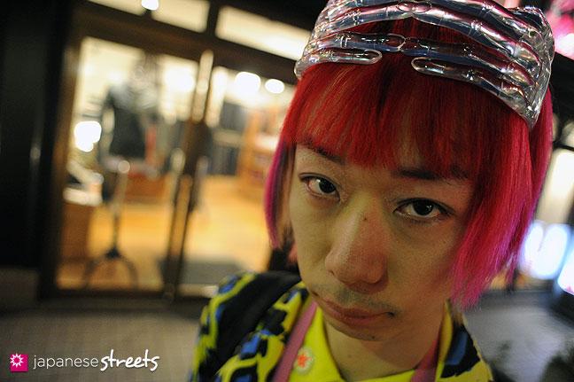 120107-2547: Japanese street fashion in Harajuku, Tokyo
