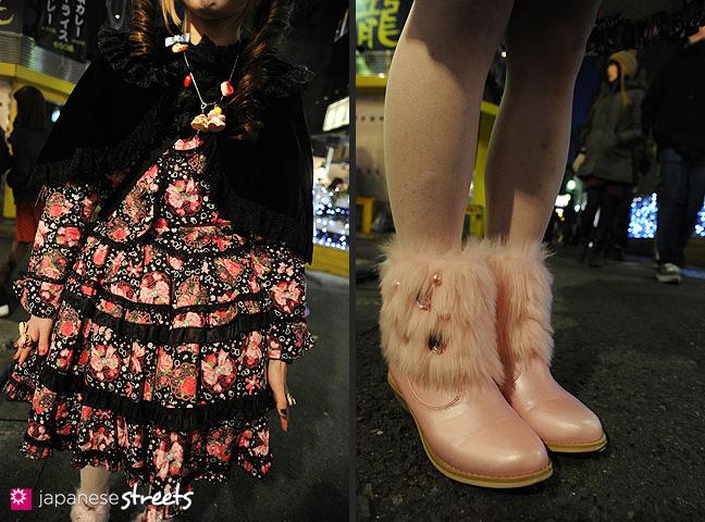 120107-2595-120107-2605: Japanese street fashion in Harajuku, Tokyo