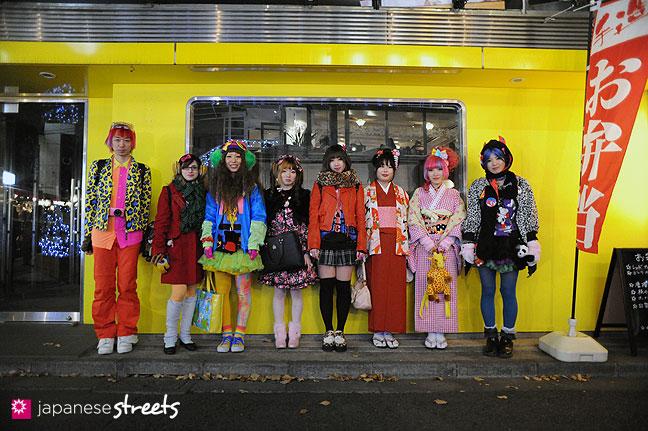 120107-2612: Japanese street fashion in Harajuku, Tokyo