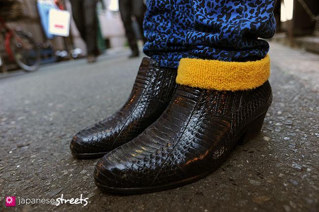 120107-2366: Japanese street fashion in Harajuku, Tokyo