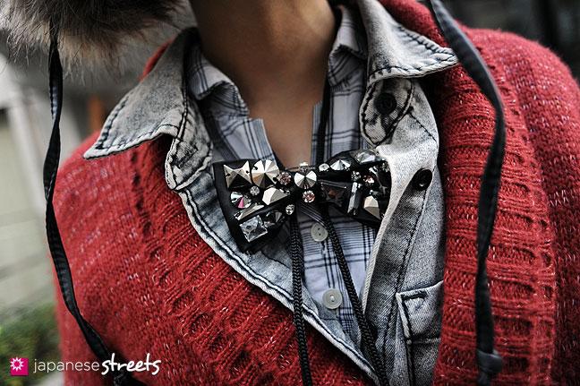 120118-2793: Japanese street fashion in Harajuku, Tokyo
