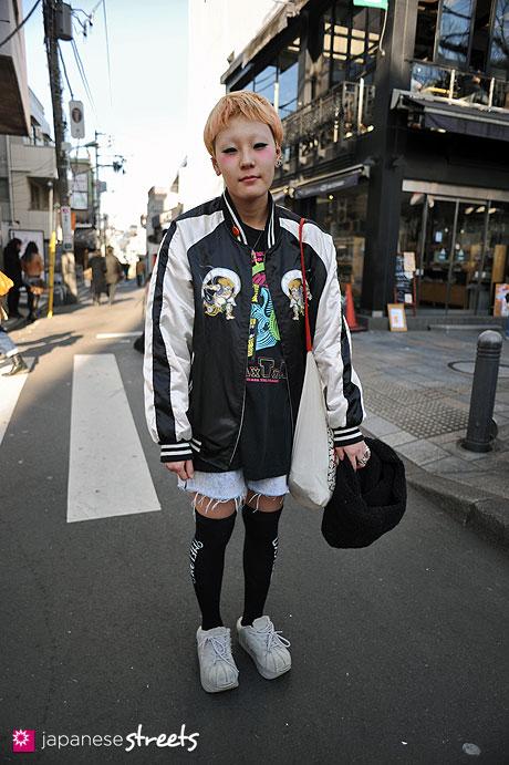 120204-5284: Japanese street fashion in Harajuku, Tokyo (KINSELLA, Volatile)