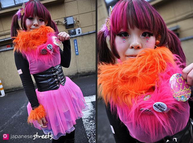 120122-3406-120122-3410: Japanese street fashion in Harajuku, Tokyo