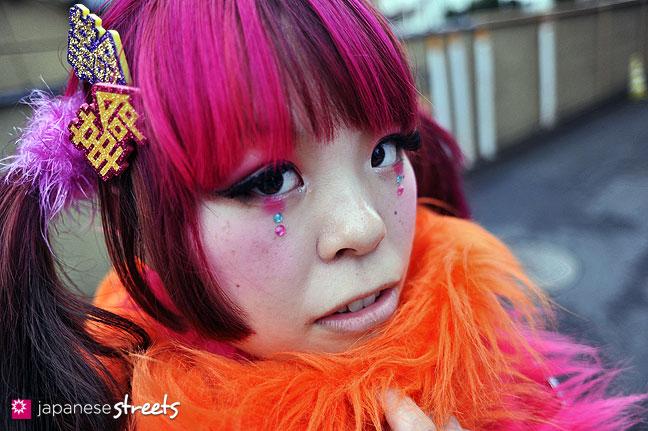 120122-3417: Japanese street fashion in Harajuku, Tokyo