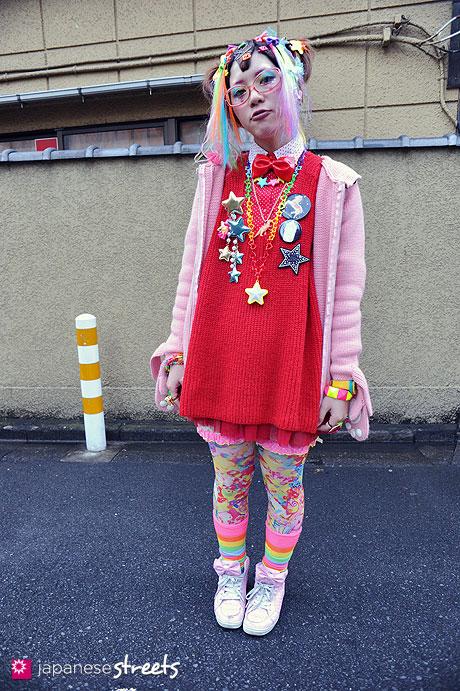120122-3426: Japanese street fashion in Harajuku, Tokyo