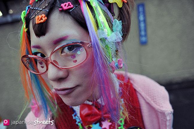 120122-3440: Japanese street fashion in Harajuku, Tokyo