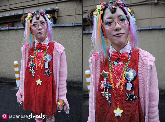 120122-3430-120122-3434: Japanese street fashion in Harajuku, Tokyo