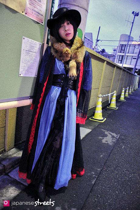 120122-3529: Japanese street fashion in Harajuku, Tokyo