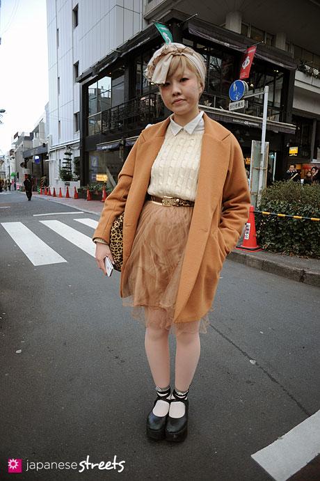 120303-7389: Japanese street fashion in Harajuku, Tokyo (Bloc, American Apparel, Tokyo Bopper, Opening Ceremony)