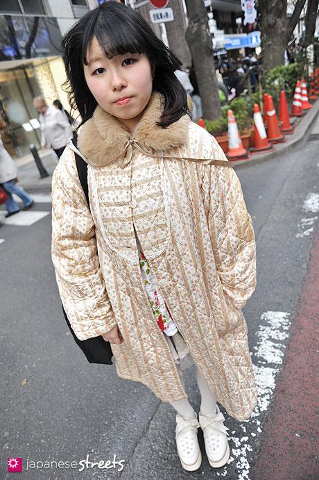 120407-9669: Japanese street fashion in Harajuku, Tokyo (BIEN, Wonder Rocket, Tokyo Bopper, Bunka Fashion College)